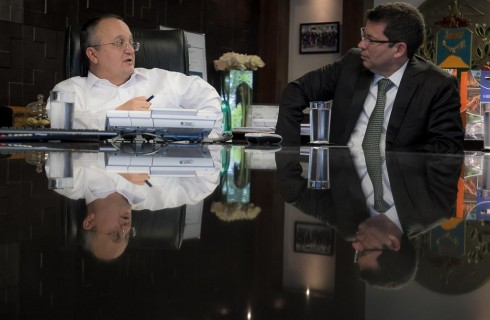 Taques debate investimento em MT com o presidente do BB